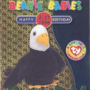 TY Beanie Babies Collection Baldy the Eagle